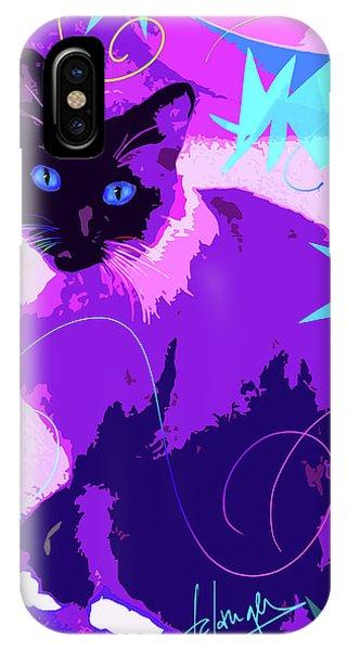 Pop Cat Cocoa IPhone Case
