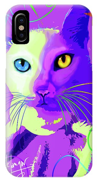pOp Cat Cotton IPhone Case
