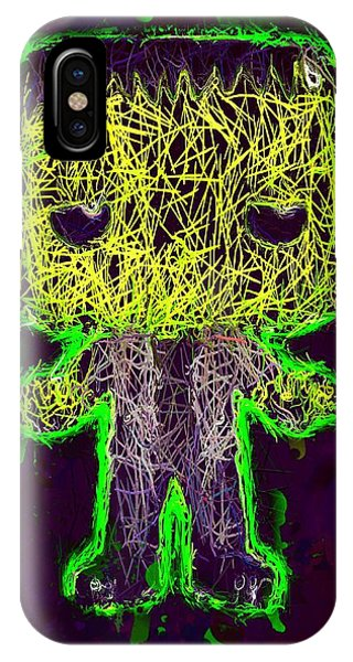 Frankenstein Pop 2 IPhone Case