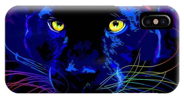 pOpCat Black Panther IPhone Case