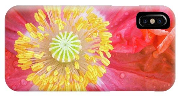 Poppy Closeup IPhone Case