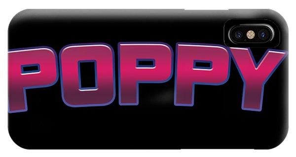 Poppies iPhone Case - Poppy #poppy by TintoDesigns