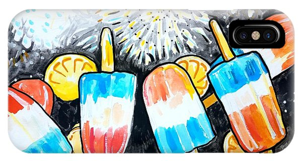 Popsicles And Fireworks IPhone Case