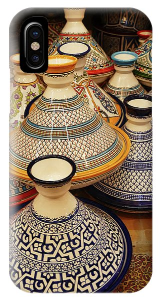 Porcelain Tagine Cookers  IPhone Case