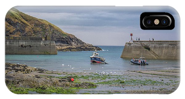 English Village iPhone Case - Port Isaac Fishing by Martin Newman