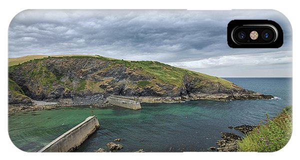 English Village iPhone Case - Port Isaac by Martin Newman