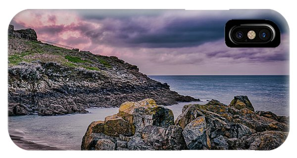 Porthgwidden Dramatic Sky IPhone Case