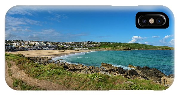 Porthmeor Beach - St Ives Cornwall IPhone Case