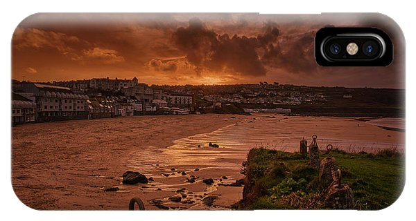 Porthmeor Sunset 2 IPhone Case