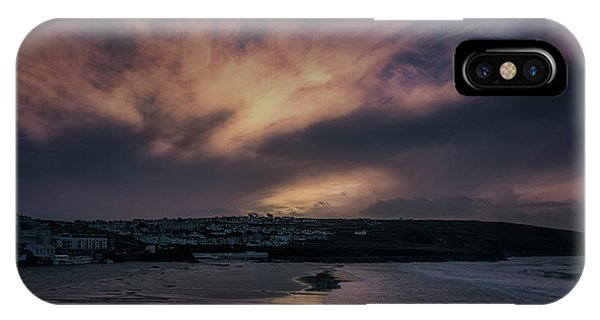 Porthmeor Sunset 4 IPhone Case