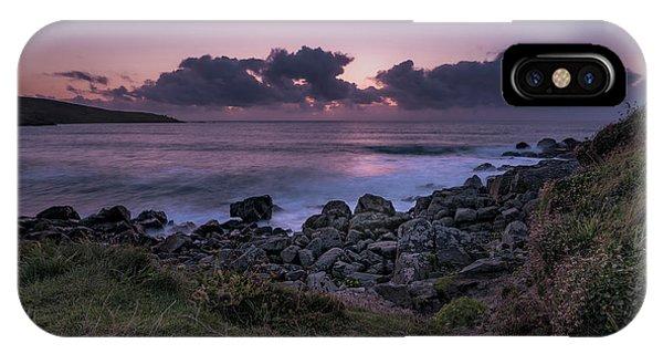 Porthmeor Sunset - Cornwall IPhone Case