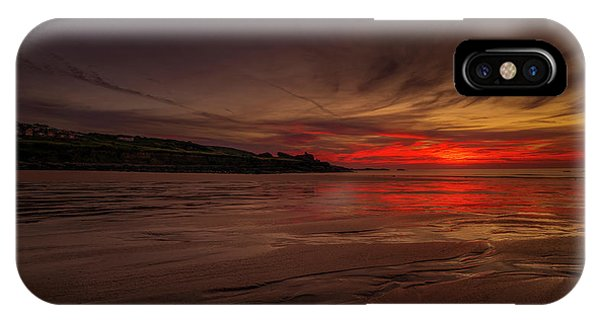 Porthmeor Sunset IPhone Case