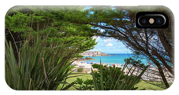 Porthminster Behind The Trees - St Ives Cornwall IPhone Case