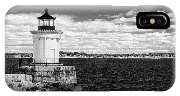 Portland Breakwater Light IPhone Case