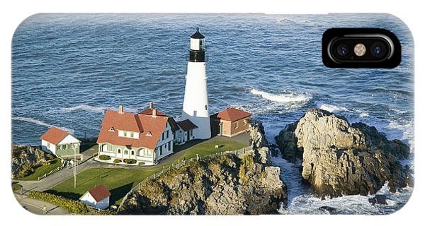 New England Coast iPhone Case - Portland Head Lighthouse, Cape by Joseph Sohm
