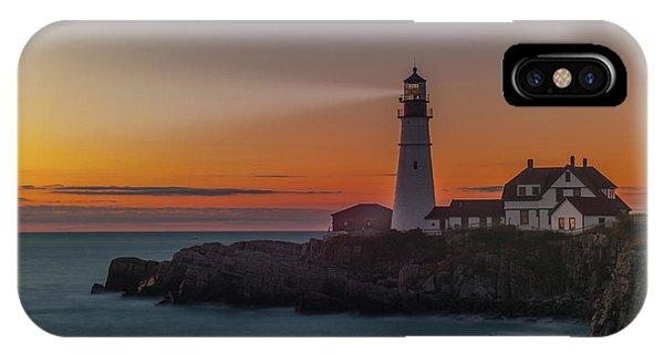 IPhone Case featuring the photograph Portland Headlight by Rick Hartigan