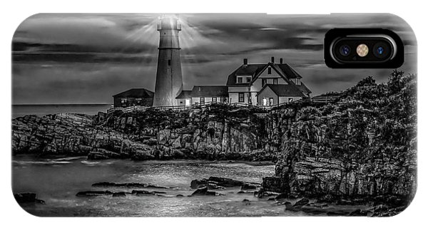 Portland Lighthouse 7363 IPhone Case