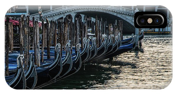 iPhone Case - Postcards From Italy - Rialto Bridge by Jaroslaw Blaminsky