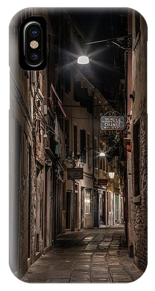 iPhone Case - Postcards From Italy - Venice At Night by Jaroslaw Blaminsky