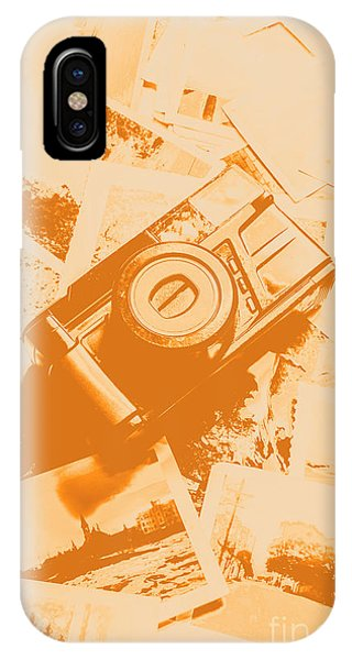 Vintage Camera iPhone Case - Posterised Photography by Jorgo Photography - Wall Art Gallery