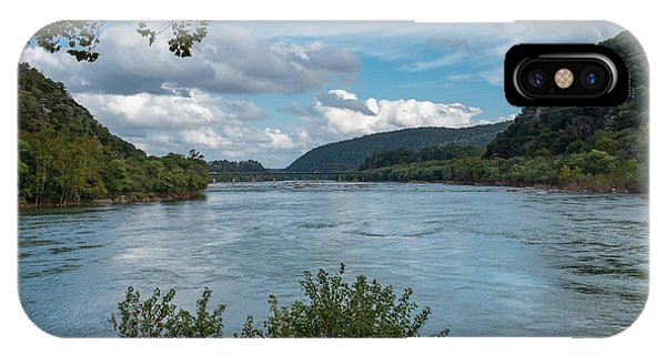 Potomac River At Harper's Ferry IPhone Case