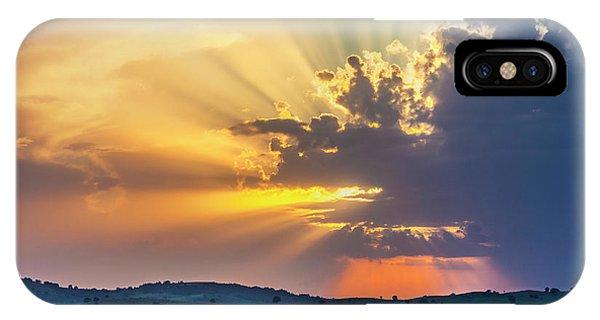 Powerful Sunbeams IPhone Case
