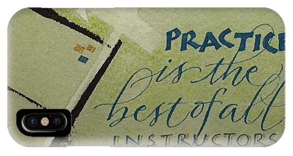 Practice IPhone Case