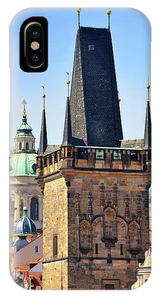iPhone Case - Prague Towers  by Kathy Yates