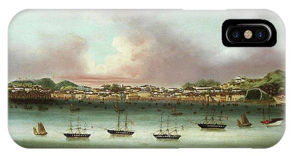 China Town iPhone Case - Praia Grande - Macau by 19th Century