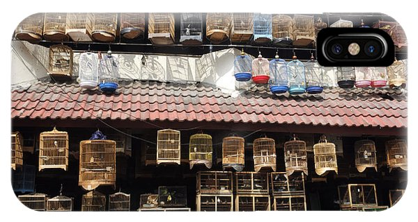 Parrots iPhone Case - Pramuka Bird Market, Jakarta by Erni