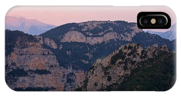 IPhone Case featuring the photograph Pre Pyrenees Sunset by Stephen Taylor