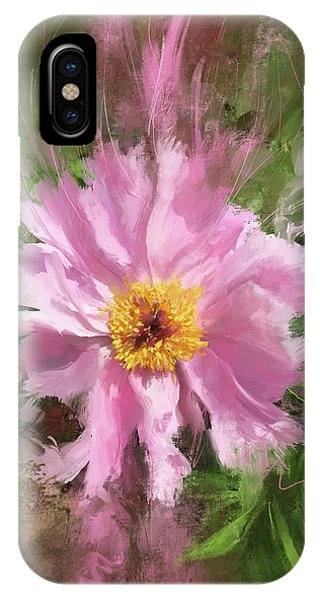 Peony iPhone Case - Pretty In Pink by Garth Glazier