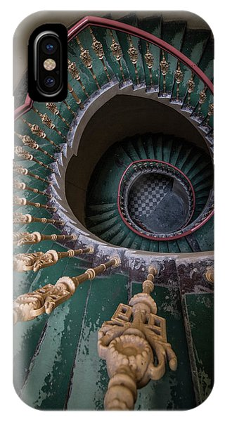 iPhone Case - Pretty Old Ornamented Staircase by Jaroslaw Blaminsky