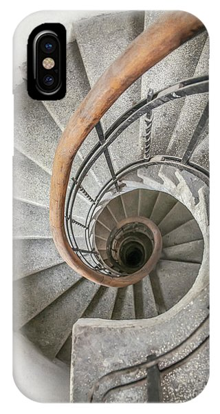 iPhone Case - Pretty Stone Spiral Staircase by Jaroslaw Blaminsky