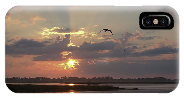 IPhone Case featuring the photograph Prime Hook Sunrise 1 by Buddy Scott