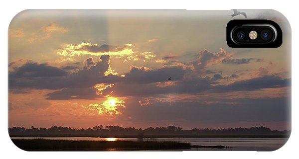 IPhone Case featuring the photograph Prime Hook Sunrise 2 by Buddy Scott