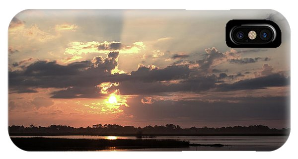 IPhone Case featuring the photograph Prime Hook Sunrise 3 by Buddy Scott