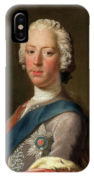 King Charles iPhone Case - Prince Charles Edward Stuart by Allan Ramsay