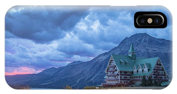 Prince Of Wales Hotel At Sunrise IPhone Case