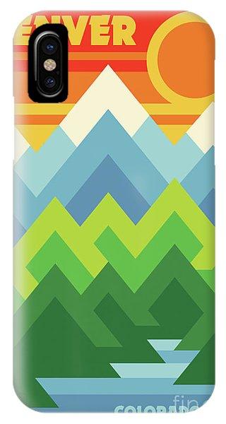 Rocky Mountain iPhone Case - Print by Jim Zahniser