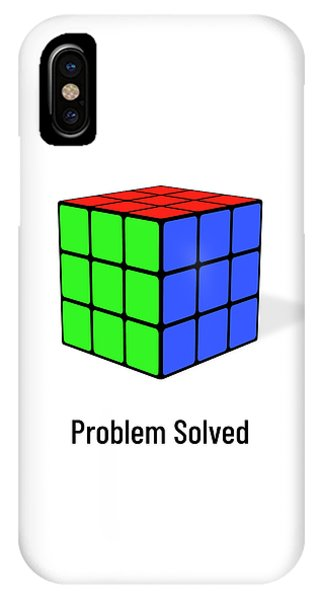 Problem Solved IPhone Case