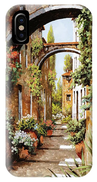 Arched iPhone Case - Profumi Tra Gli Archi by Guido Borelli