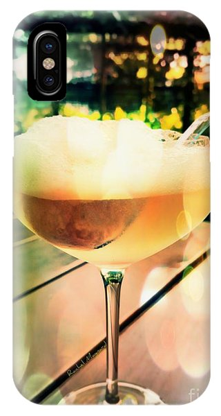 IPhone Case featuring the photograph Prosecco Float by Rachel Maynard