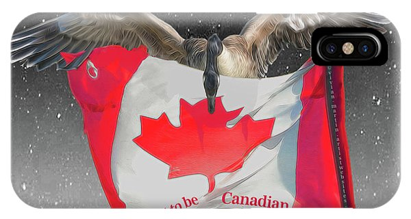 Proud To Be Canadian IPhone Case