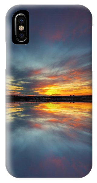 Flooded iPhone Case - Puddle  by Aaron J Groen