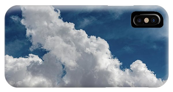 Puffy White Clouds IPhone Case