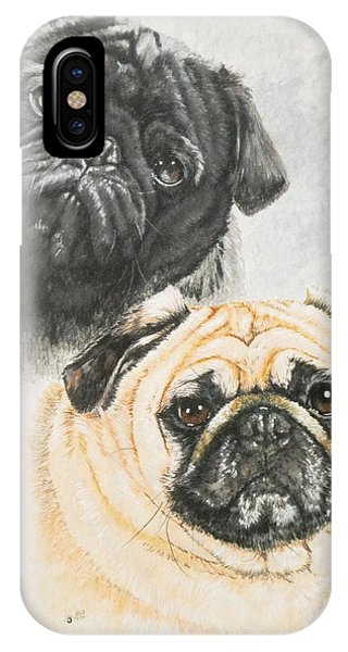 Pug Brothers IPhone Case