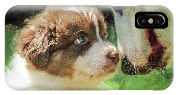 Puppy Dog IPhone Case
