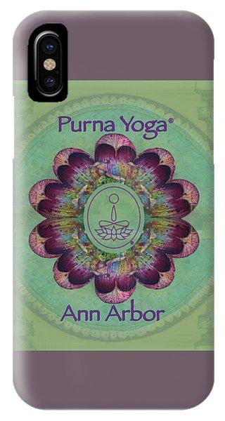 Purna Yoga Ann Arbor IPhone Case