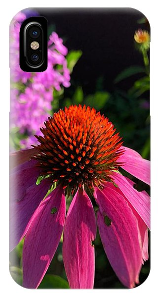 IPhone Case featuring the photograph Purple Coneflower by Lukas Miller